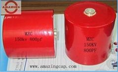 高压圆柱形陶瓷电容器