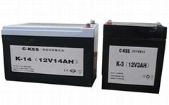 消防及安全防衛系統電源蓄電池