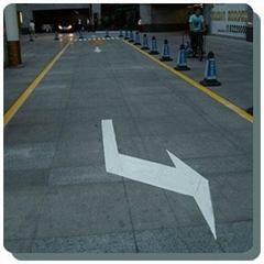 道路劃線,停車場車位劃線