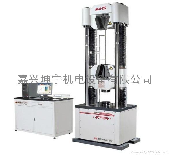 供應嘉興電液伺服液壓  試驗機WAW605B 1