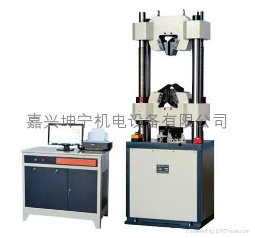 供應嘉興電液伺服液壓  試驗機WAW605B 3