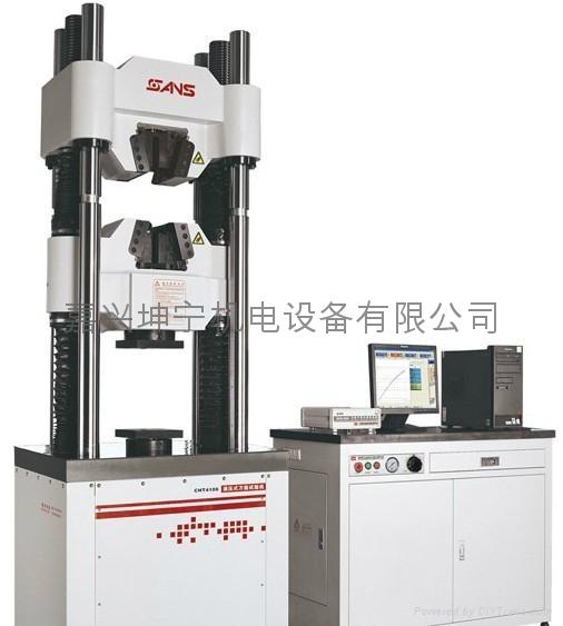 供應嘉興電液伺服液壓  試驗機WAW605B 4