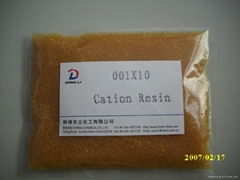 Gel Strong Acid Cation Exchange Resin