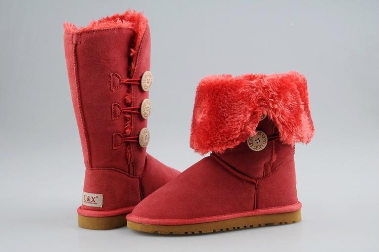 高筒u&x雪地靴