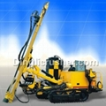 Quarry mine borehole core water well drilling rig