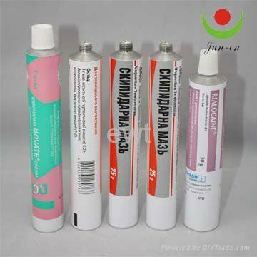 pharmaceutical aluminum ointment tube 2
