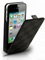 Leather Battery Case for iPhone 4/4S 1