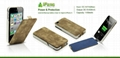 Leather Battery Case for iPhone 4/4S 5