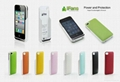 External Leather Battery Case for iPhone