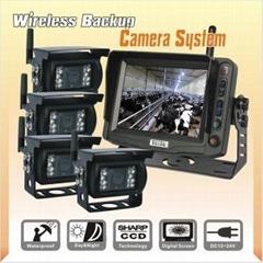 農場無線監控后視系統