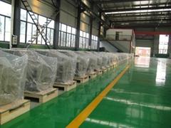 three-phase brushless synchronous AC generator