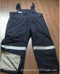 C/N FR suspender trousers