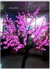 仿真櫻花樹燈