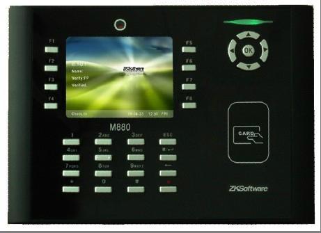 中控M880拍照刷卡考勤機 1