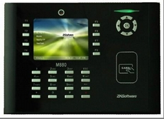 中控M880拍照刷卡考勤機