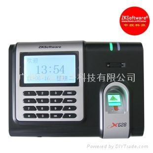 中控X628指紋考勤機 1