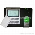 中控X638指紋刷卡考勤機