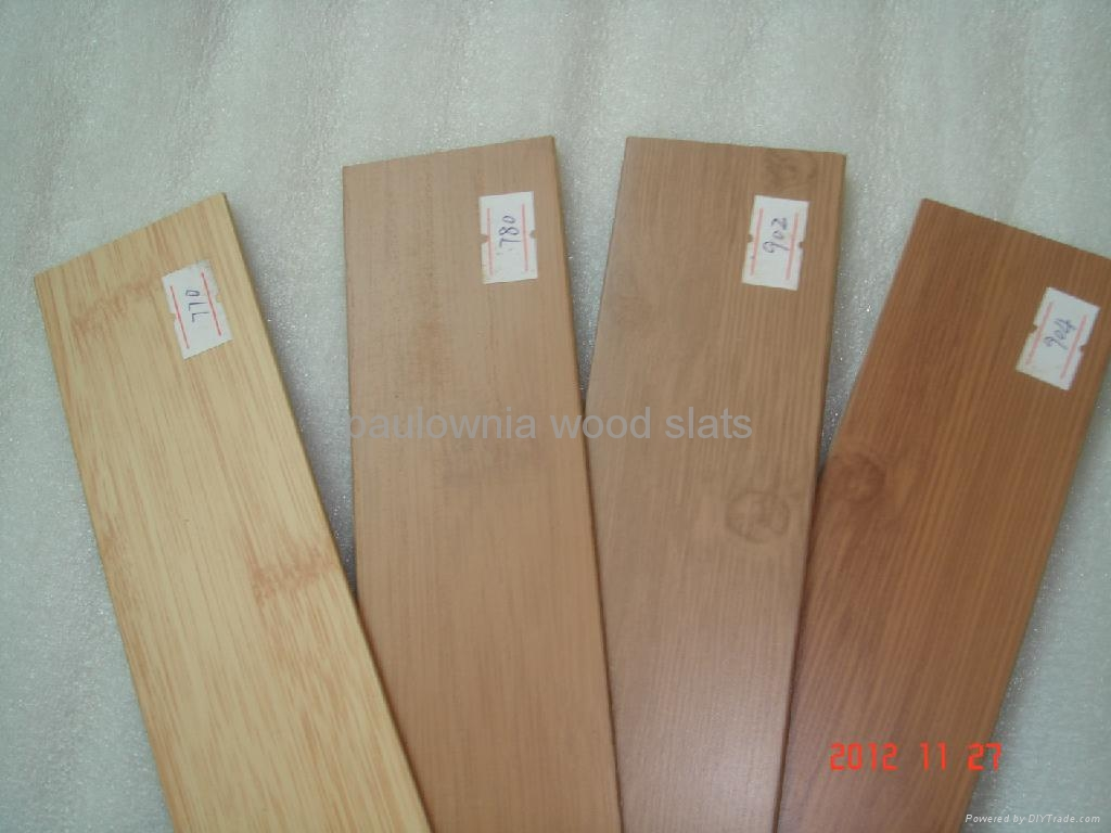 paulowniawood window  blinds slat 3