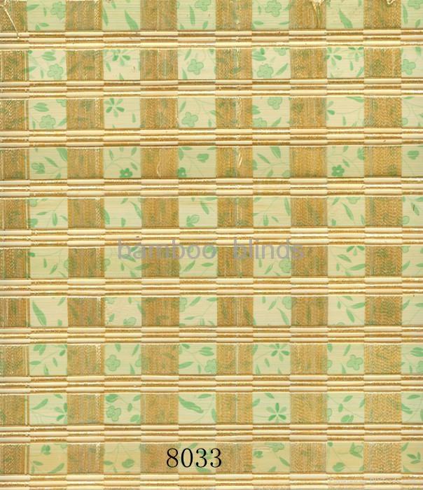 竹木编织窗帘 1