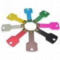 colorful key usb