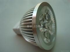 大功率 220V 4X1W MR16燈杯