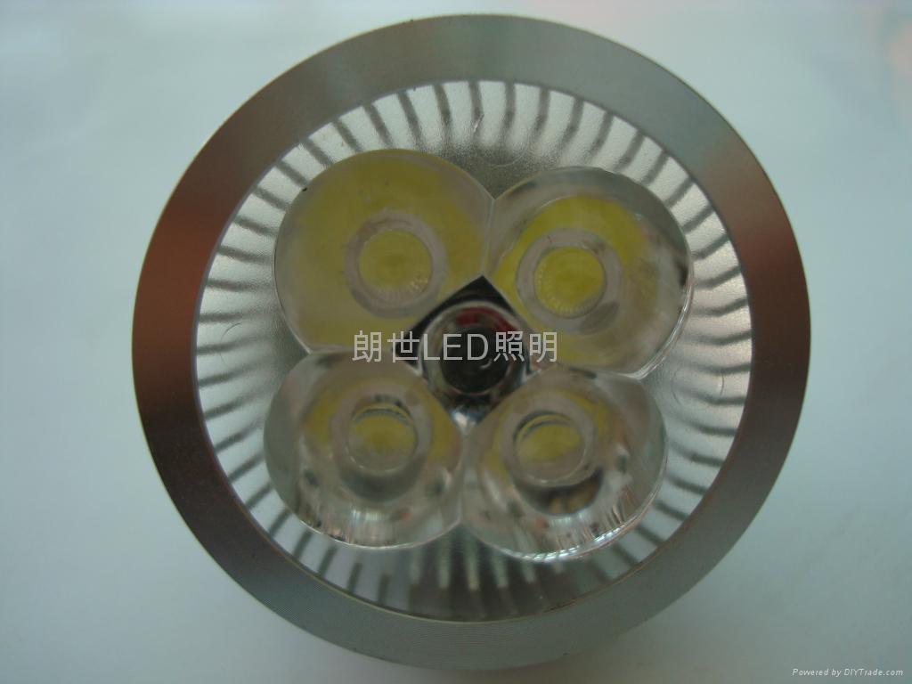大功率 220V 4X1W MR16燈杯 2
