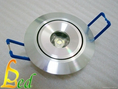 大功率 220V 1W 天花燈
