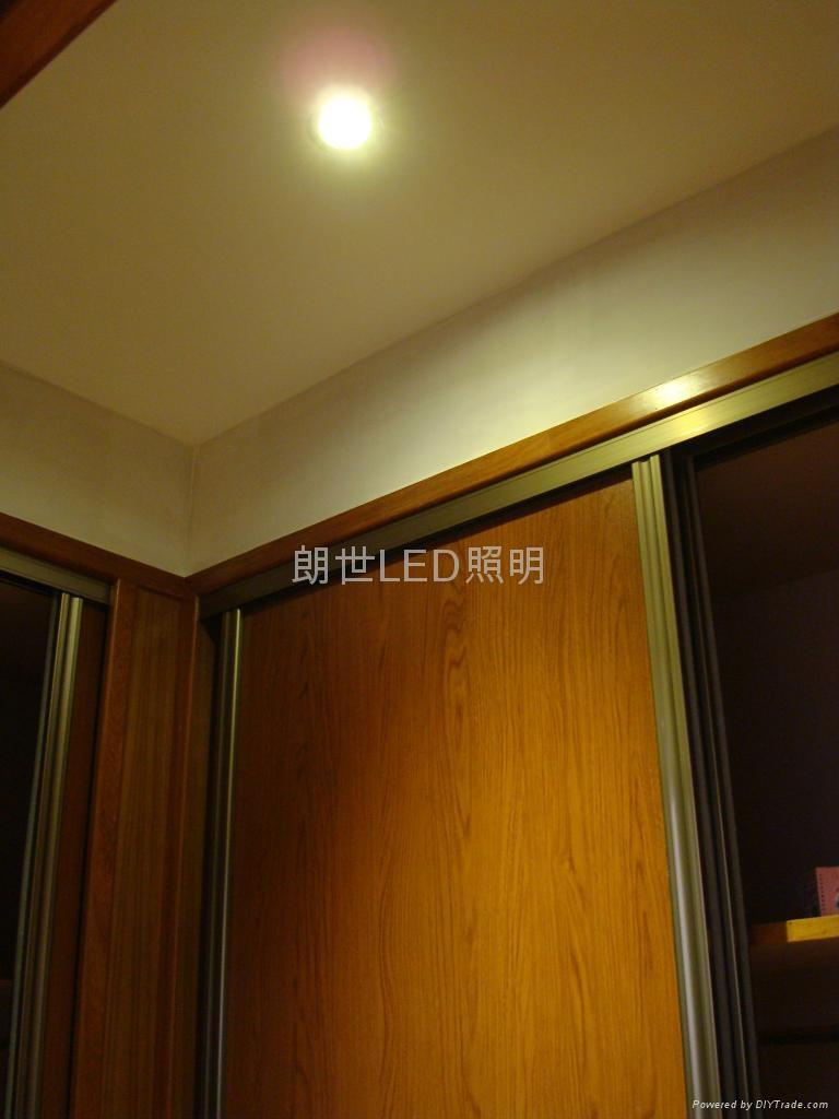 大功率 220V 3W 高光外環天花燈 5