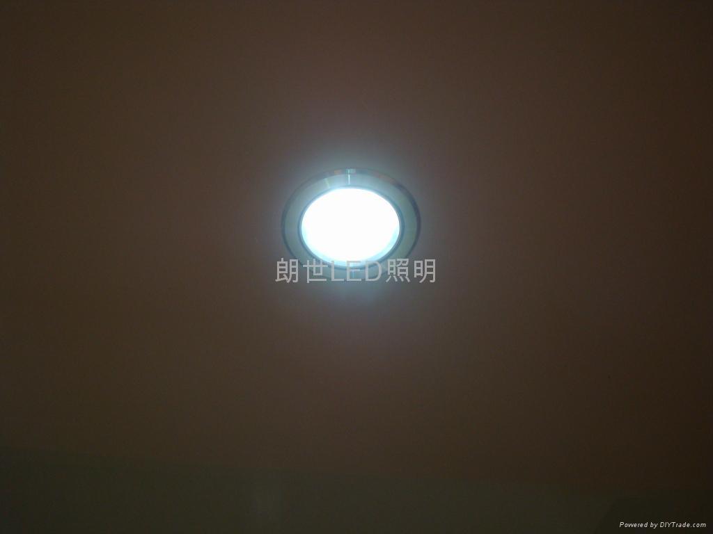 大功率LED 220V 9W 高光斜邊天花燈 4