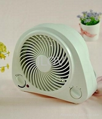upright electric fan heater