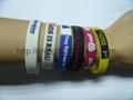 Fashion silicone Slap Bracelet 3