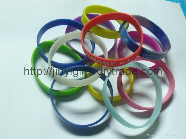 Fashion silicone Slap Bracelet 5
