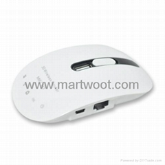 Portable 3G Wireless Router Slim Design (White Version)