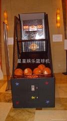 南京星星自动篮球机