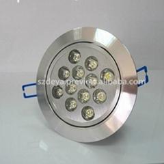 深圳LED天花射燈12W