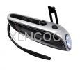 XLN-811B Crank Dynamo Solar Flashlight with Mobilephone Charger & Radio