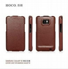 HOCO samsung galaxy S2 leather case