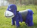 电动动物玩具车