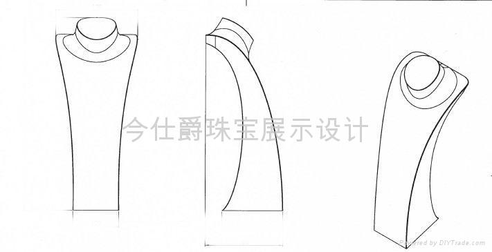 珠寶展示架設計理念 1