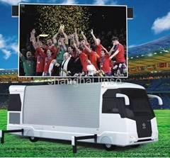 Outdoor Advertising Trailer LED Display