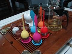 硅胶滤茶器