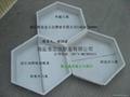 重庆沿江旅游六角形水泥砖塑料模具 1