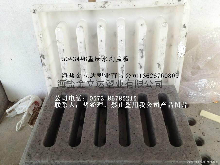 重庆河道护坡水泥块塑料模 4