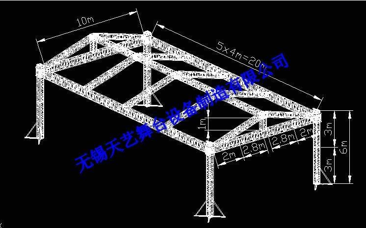 鋁合金truss架 2