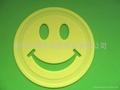 供應食品級硅膠材料笑臉硅膠墊