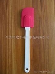塑料手柄硅膠刮刀