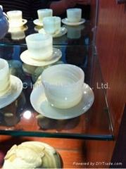 Coffee Cups & Saucer Set