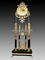 Triumphant Floor Antique Clocks