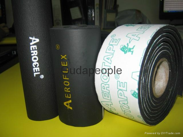 Rubber Insulation Pipe Aeroflex Epdm 020101 China