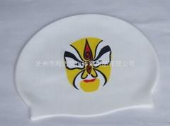 硅胶游泳帽